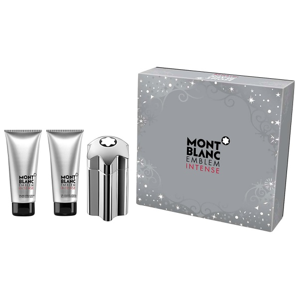 (M) MONT BLANC EMBLEM INTENSE 3.4 EDT SP + 3.3 AS/B + 3.3 S/G