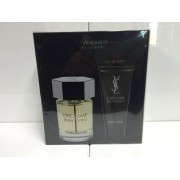 (M) YSL L'HOMME 3.3 EDT SP + 3.3 S/G