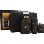 (M) BVLGARI MAN IN BLACK 3.4 EDP SP + 2.5 S/G+ 2.5 AS/B + POUCH