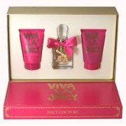 (L) JUICY COUTURE VIVA LA JUICY 3.4 EDP SP + 4.2 B/L + BAG