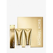 (L) MICHAEL KORS 24K BRILLIANT GOLD 3.4 EDP SP + 3.4 B/L + 3.4 S/G