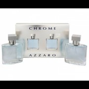 (M) AZZARO CHROME 1.0 EDT SP + 1.0 EDT SP