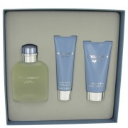 (M) D&G LIGHT BLUE 4.2 EDT SP + 2.5 AS/B + 1.6 S/G