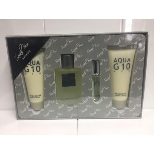 (M) AQUA G10 3.4 EDT SP + 5.0 S/G + 5.0 A/S + .50
