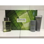 (M) KENNETH COLE REACTION 3.4 EDT SP + 3.4 AS/B + 2.6 DT