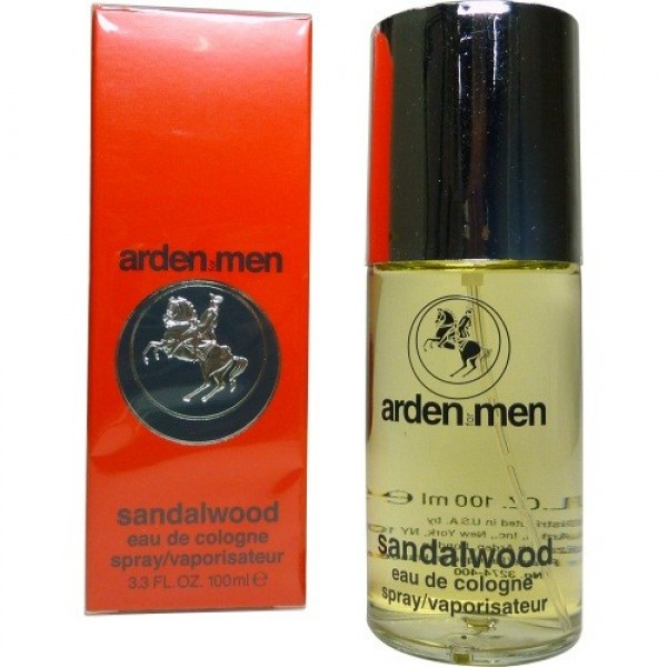 (M)  ARDEN MEN SANDALWOOD 3.4 EDC SP