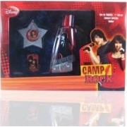 (K) CAMP ROCK UNISEX 3.4 EDT SP + KEYCHAIN + NECKLACE