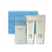 (L) D&G LIGHT BLUE 3.4 EDT SP + 3.3 B/L + 3.3 S/G