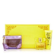 (L) VERSACE YELLOW DIAMOND 3.0 EDT SP + .30 EDT SP + YELLOW POUCH