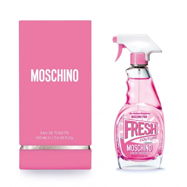 (L) MOSCHINO FRESH COUTURE PINK 3.4 EDT SP