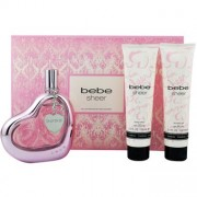 (L) BEBE SHEER 3.4 EDP SP + 3.4 B/L + 3.4 S/G