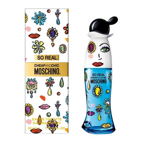 (L) MOSCHINO SO REAL 3.4 EDT SP