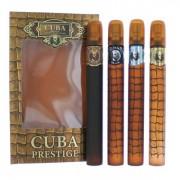 (M) CUBA PRESTIGE 1.2 EDP SP COLLECTION CLASSIC + BLACK + PLATINUM + LEGACY