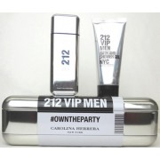 (M) 212 VIP MEN 3.4 EDT SP + 3.4 S/G TIN BOX