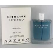 (M) AZZARO CHROME UNITED 3.4 EDT SP TSTR