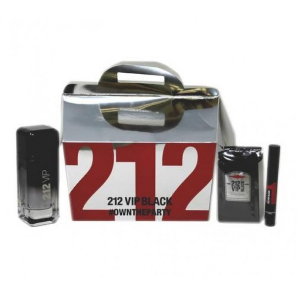(M) 212 VIP BLACK 3.4 EDP SP + 0.1 MRKR + 12 S/G PCKS