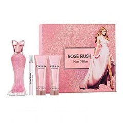 (L) PARIS HILTON ROSE RUSH 3.4 EDP SP + 3.4 B/L + 3.0 S/G + RLLRBLL