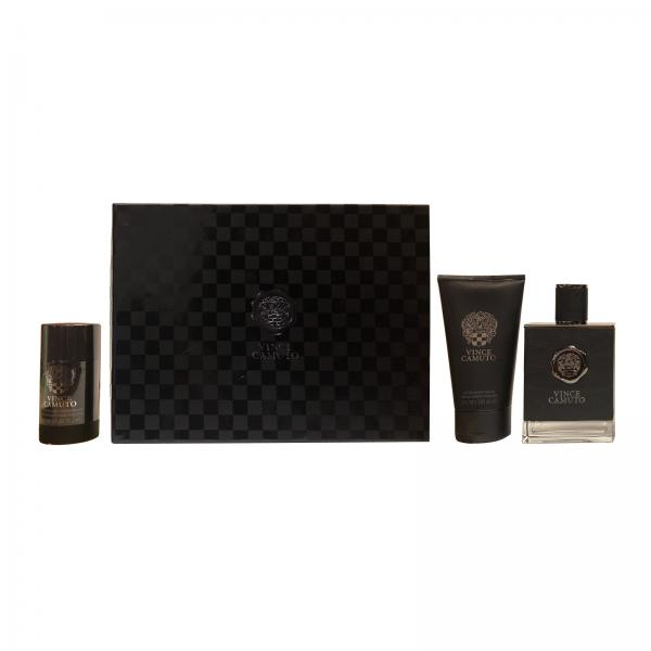 (M) VINCE CAMUTO 3.4 EDT SP + 5.0 AS/B + 2.5 DT