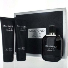 (M) KENNETH COLE MANKIND HERO 3.4 EDT SP + 3.4 AS/B + 3.4 S/G