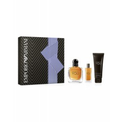 (M) ARMANI STRONGER WITH YOU 3.4 EDT SP + AS/B + S/G