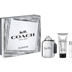 (M) COACH PLATINUM 3.4 EDP SP + 3.4 S/G + MINI