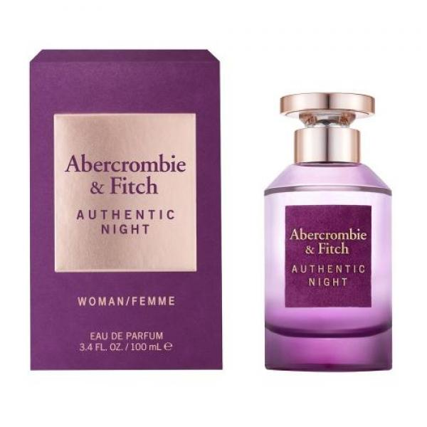 (L) AB & FITCH AUTHENTIC NIGHT 3.4 EDP SP