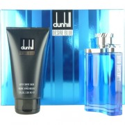 (M) DUNHILL DESIRE BLUE 3.4 EDT SP + 3.0 AS/B + 3.0 S/G + BAG