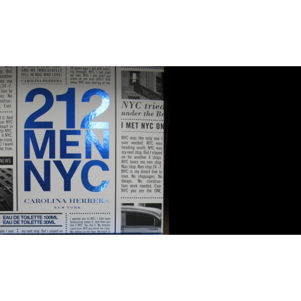 (M) 212 MEN NYC 3.4 EDT SP + 0.33 EDT SP