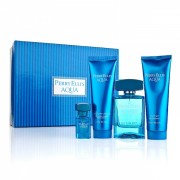 (M) PERRY ELLIS AQUA 3.4 EDT SP + 3.0 S/G + 3.0 A/S + .25