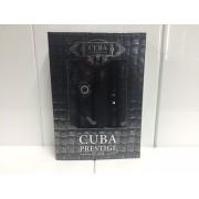 (M) CUBA PRESTIGE BLACK 3.4 EDT SP + .35