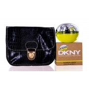 (L) DKNY BE DELICIOUS 3.4 EDP SP + BAG