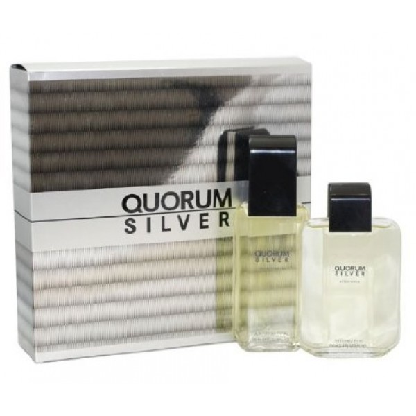 (M) QUORUM SILVER 3.4 EDT SP + 3.4 A/S