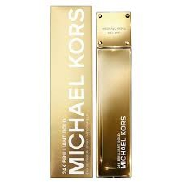 (L) MICHAEL KORS 24K BRILLIANT GOLD 3.4 EDP SP