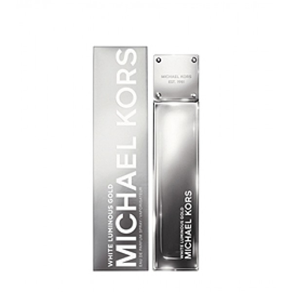 (L) MICHAEL KORS WHITE LUMINOUS GOLD 3.4 EDP SP